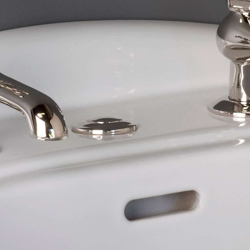solid brass sink hole cover multiple finishes available