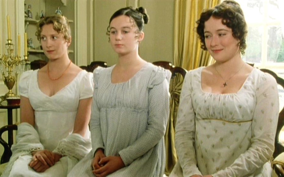 Image result for pride and prejudice 1995 dresses