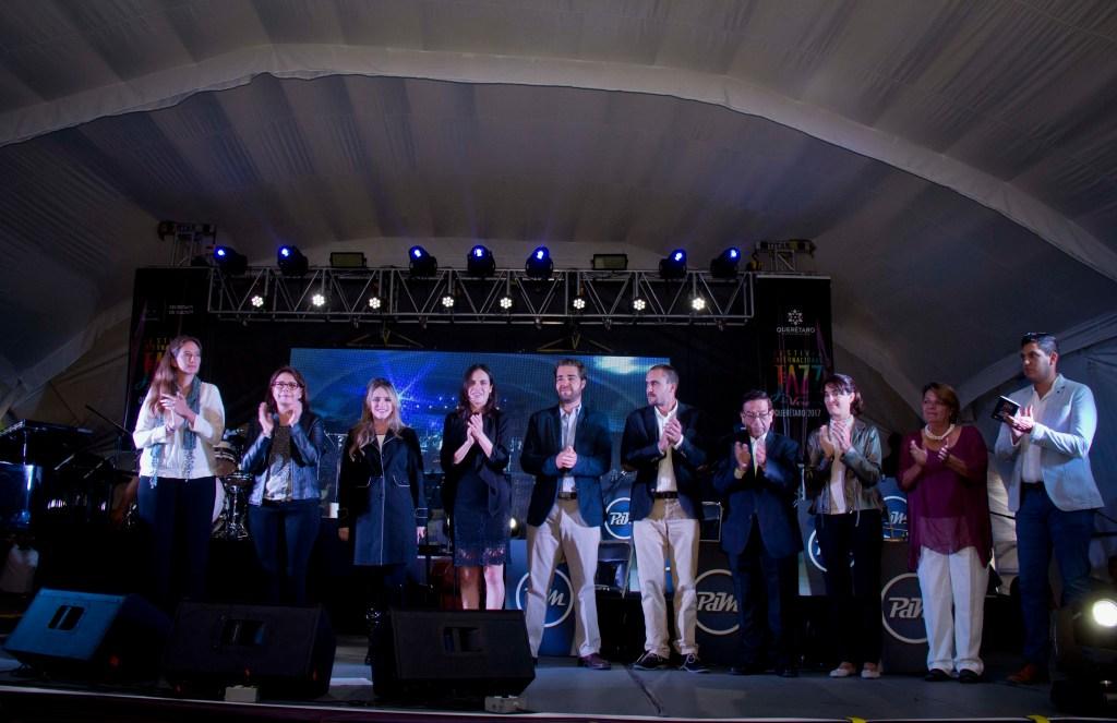 La Secretaria de Cultura del Estado, Paulina Aguado Romero, informó la programación del Festival, en el cual se llevarán a cabo 44 actividades, como conciertos, conferencias, master clases y proyecciones monumentales.