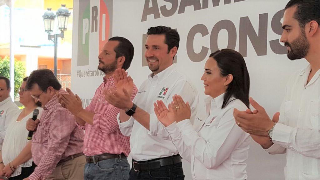 Buscarará PRI recuperar la Alcaldía de Corregidora; elige nuevo dirigente municipal