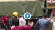 #Video Corren y agreden al delegado de Xochimilco por falta de apoyo a damnificados por sismo