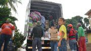 Llegan a Oaxaca 26 toneladas de ayuda que envían queretanos