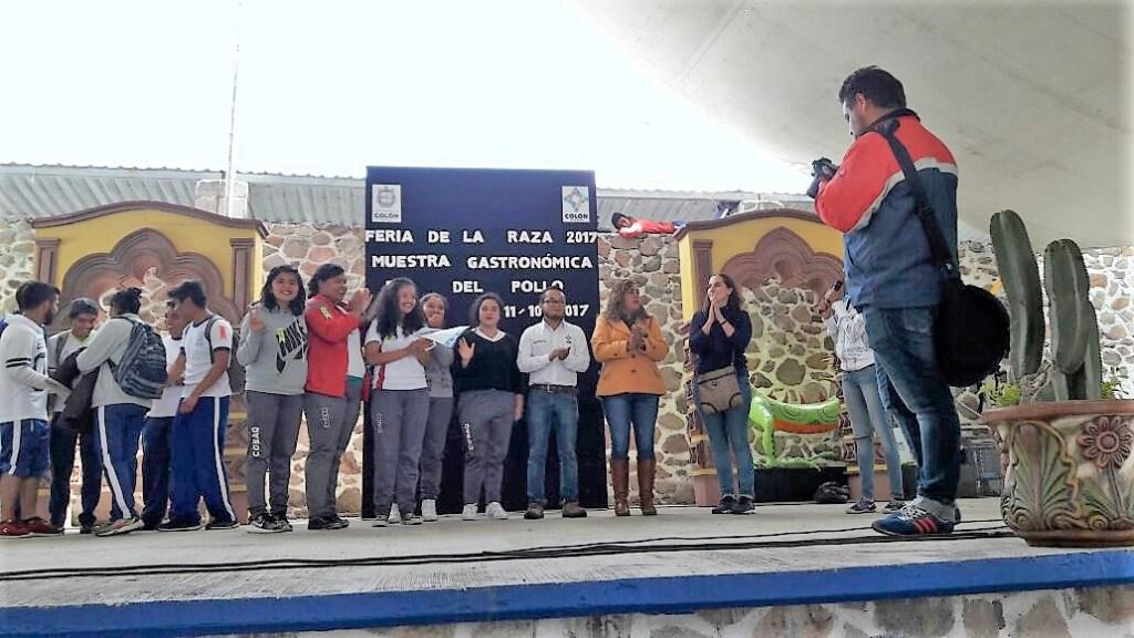 Estudiantes del COBAQ ganan Rally Académico en Feria de Colón