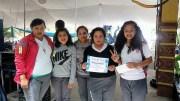 Estudiantes del COBAQ ganan Rally Académico en Feria de Colón.
