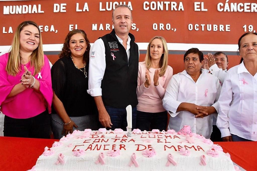 Conmemoran en El Marqués, día mundial contra el cáncer de mama