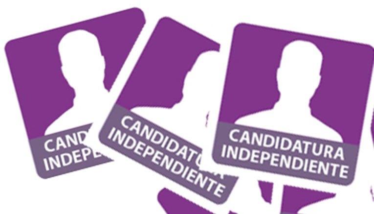 aspirantes a candidaturas independientes.