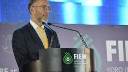 Marco del Prete inaugura Foro Internacional de Energía México.