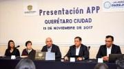 """Marcos Aguilar presenta la app """"VisitaQro"""" para incrementar turismo"""