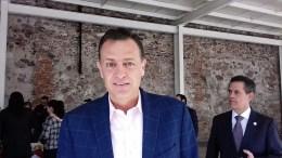 Mauricio Kuri quiere ser candidato del PAN al Senado. Foto: Tere Álvarez