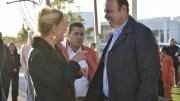 Rogelio Vega entrega rehabilitación de vialidades en Tejeda