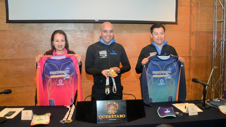 """Querétaro espera 5 mil corredores en la """"Carrera Nocturna Powerade"""" en su edición 2018"""