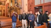 Marcos Aguilar entrega la restauración del Templo de Santa Clara