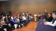 Marcos Aguilar presenta el sistema lector de placas en Querétaro
