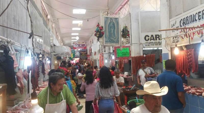 """Remodelación del mercado Ocampo """"a paso de tortuga"""""""