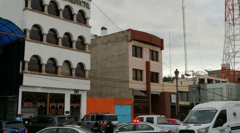 Sujetos armados matan a paciente del Hospital Acueducto, en Morelia