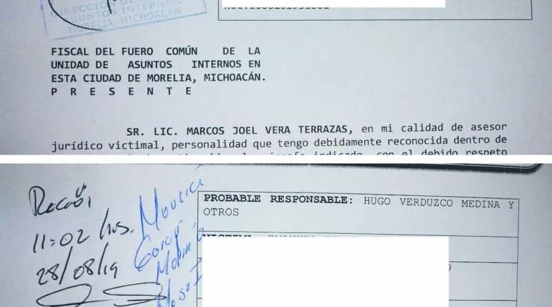 Podrida Fiscalía de Zitácuaro