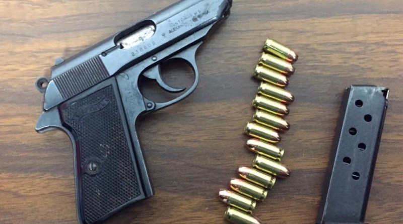 En atención a reporte, asegura SSP a uno en posesión de arma de fuego