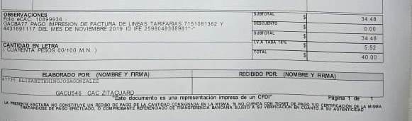 Acusan a Telcel de cobrar facturas impresas