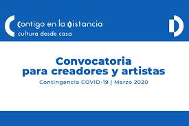 """Convoca Secretaría de Cultura a creadores y artistas para participar en """"Contigo en la distancia"""""""