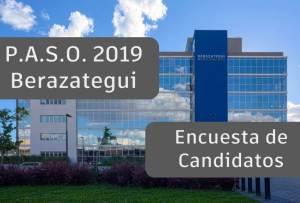 encuesta de candidatos a Intendente de Berazategui