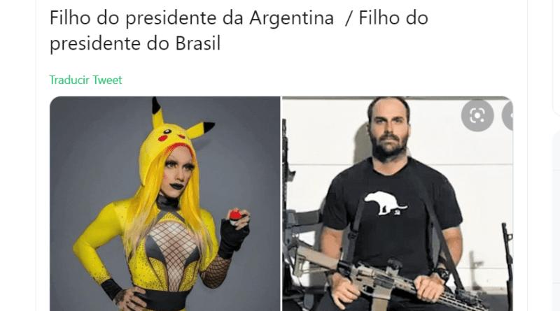 hijo Bolsonaro