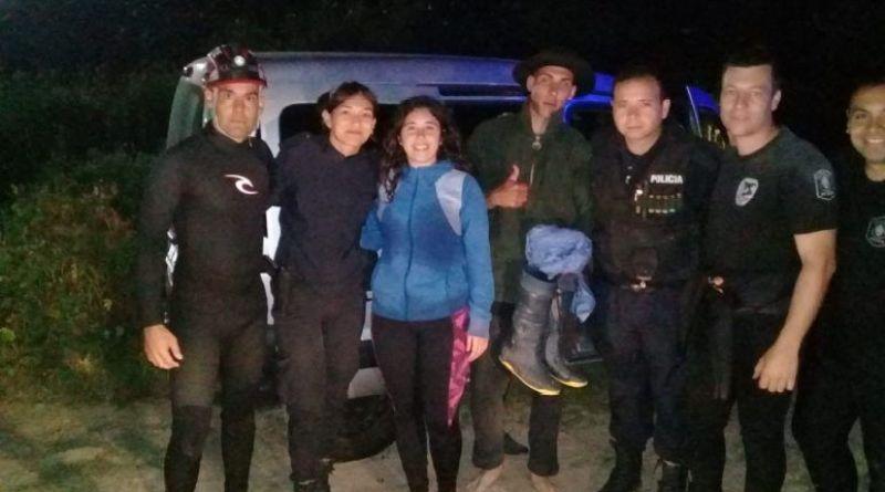 rescate en el Rio de La Plata