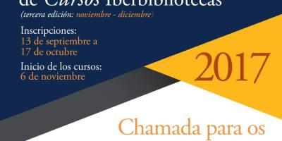 Ya se encuentra abierta la convocatoria para la TERCERA EDICIÓN de los cursos virtuales gratuitos que ofrece Iberbibliotecas
