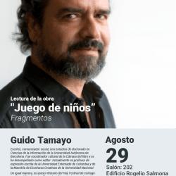 89° Encuentro con la palabra con Guido Tamayo