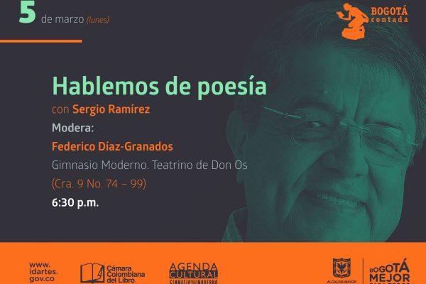 Sergio Ramírez, ganador del Premio Cervantes, está en Bogotá