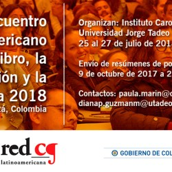 Participe en el Encuentro Latinoamericano del Libro, la Edición y la Lectura 2018