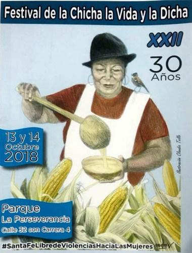 XXII  Festival de la Chicha, la Vida y la Dicha los días 13 y 14 de Octubre 2018