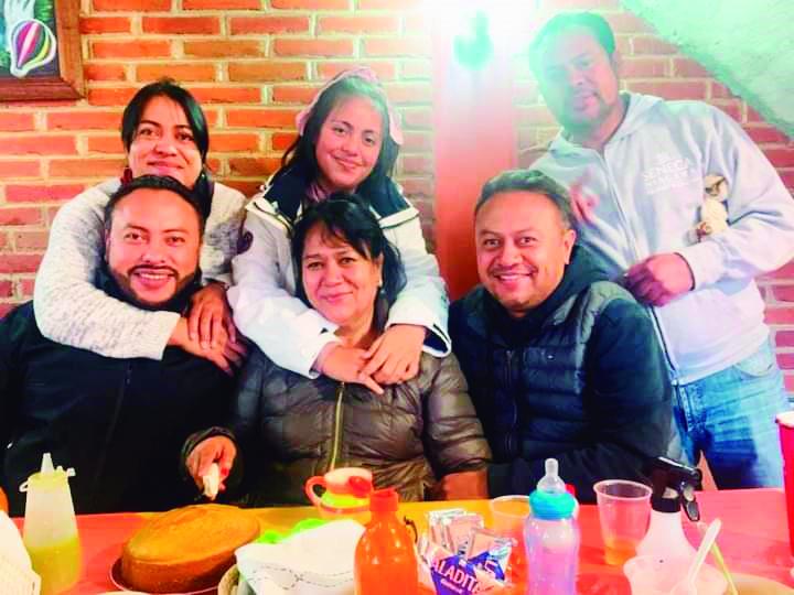 Familia Cruz Lemus.