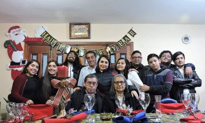 La familia Lemus Gómez.