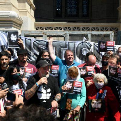 Reclamo de la familia de Santiago Maldonado ante la Corte Suprema
