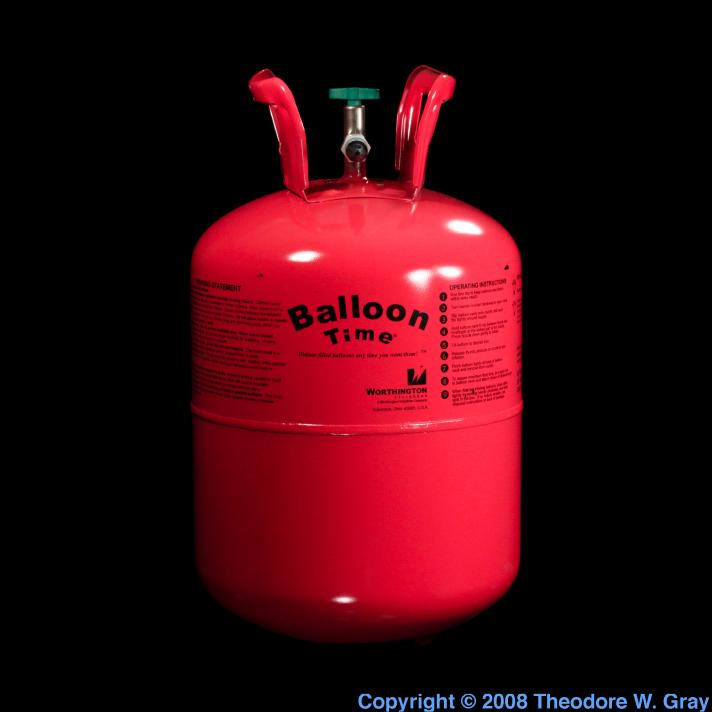 Helium Disposable party balloon tank