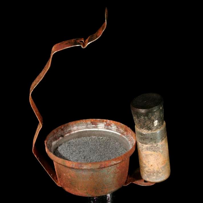 Magnesium Antique powder flash