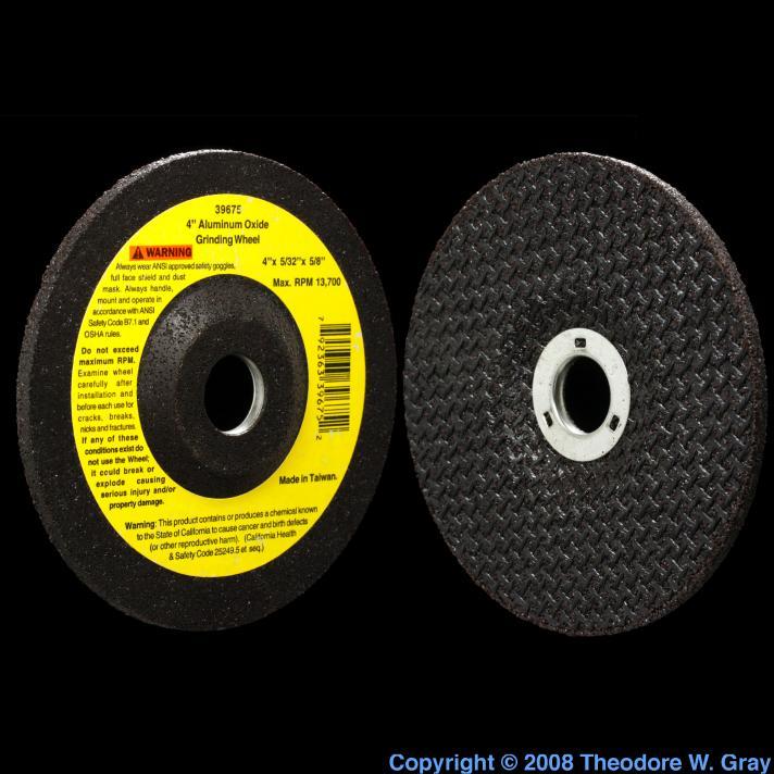 Aluminum Aluminum oxide grinding disk