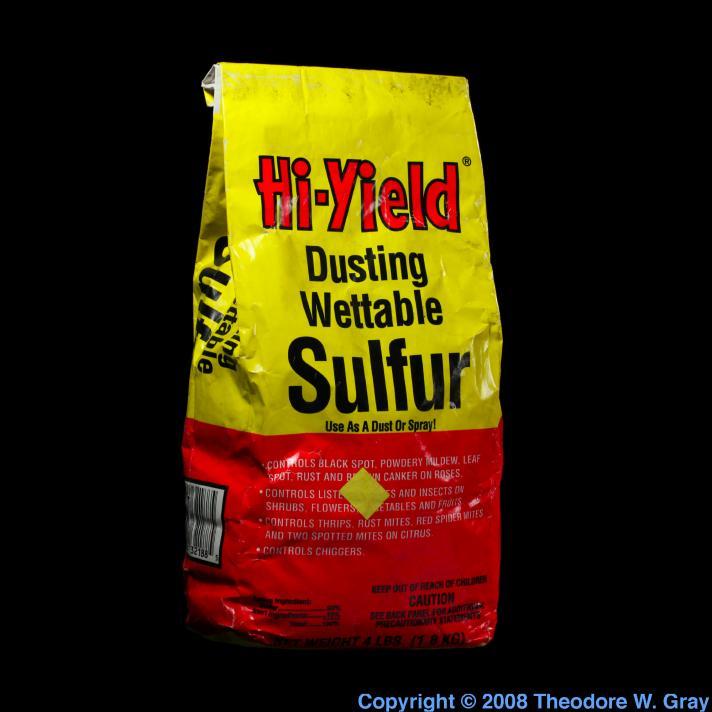 Sulfur Dusting Sulfur