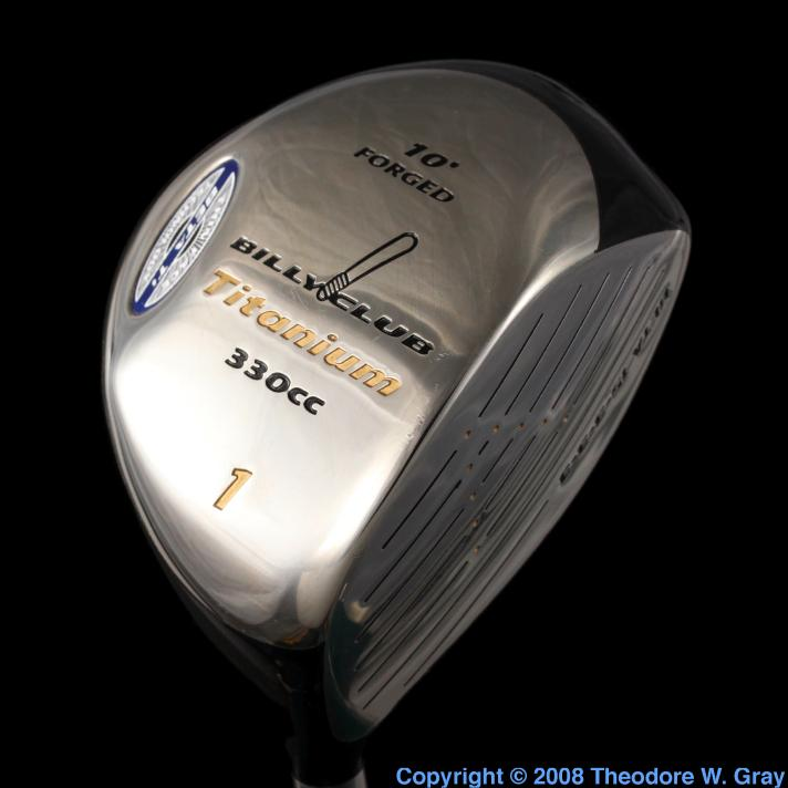 Titanium Golf club