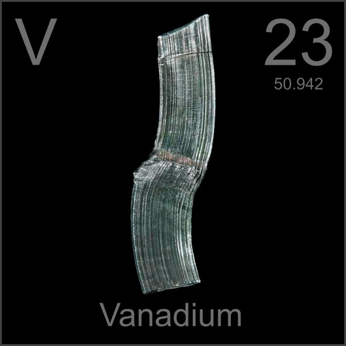 Vanadium Poster sample