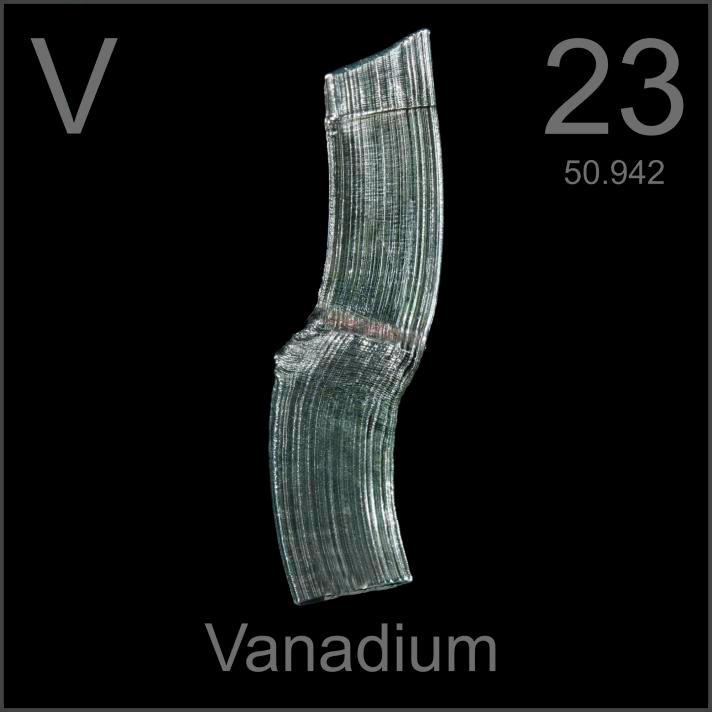 Vanadium Poster sample