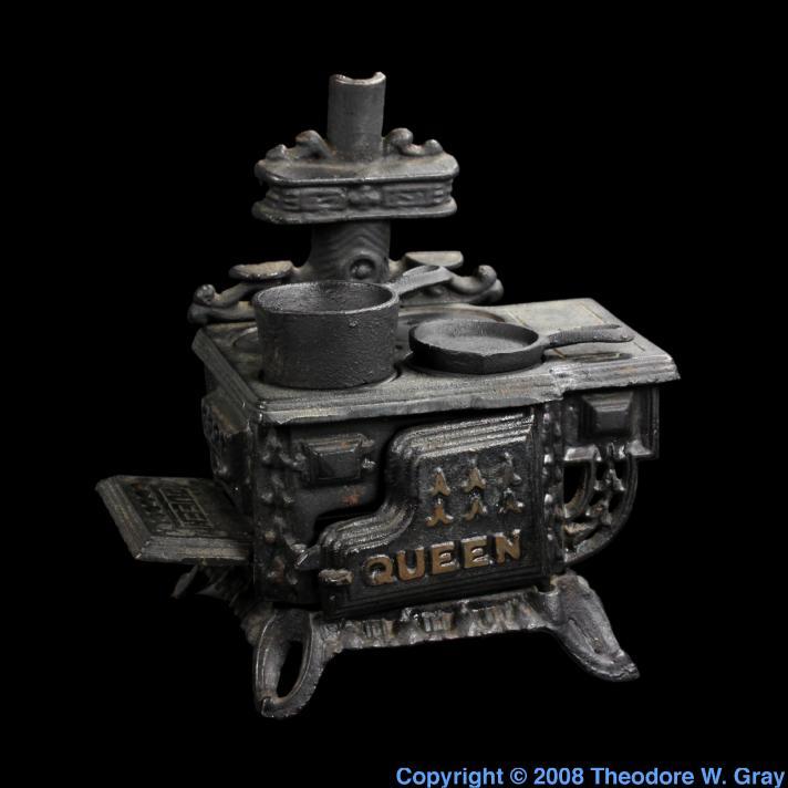 Iron Mini cast iron stove