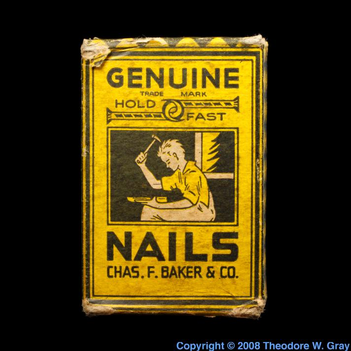 Iron Old nails