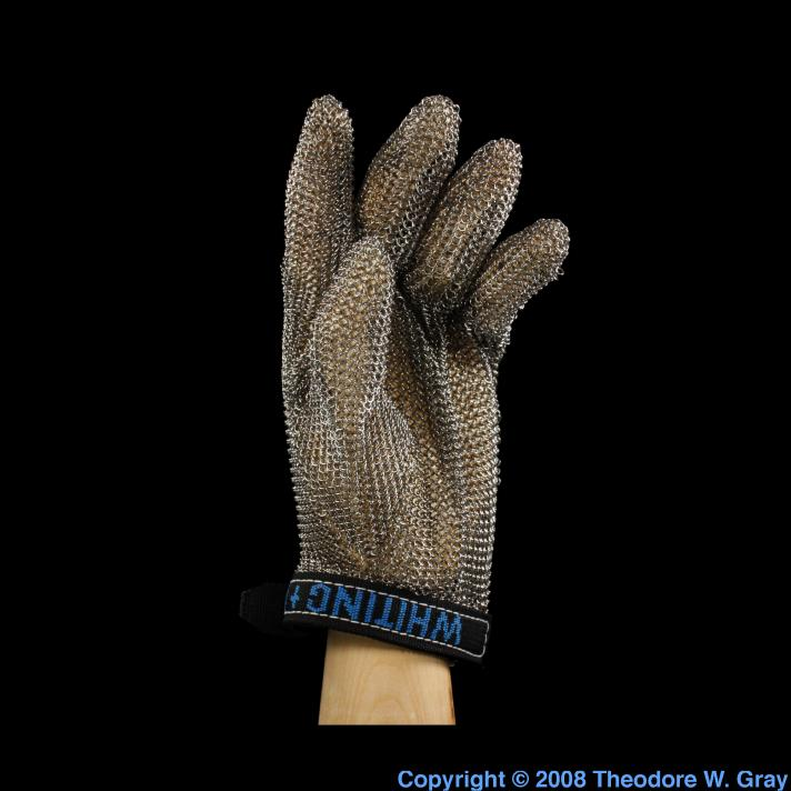 Iron Modern chain mail glove