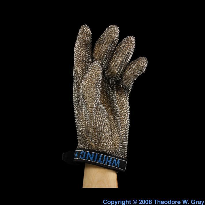 Iron Modern chain mail glove