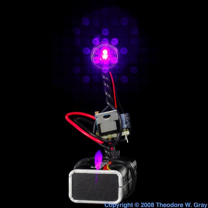 Gallium Blu-ray laser