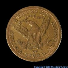 Gold Antique coin