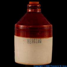 Mercury Ceramic mercury jug