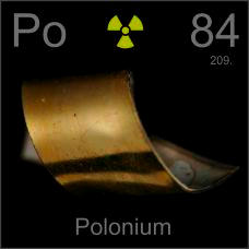 Polonium Poster sample