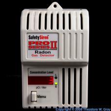 Radon Electronic radon gas detector